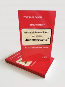 Buch: Rette sich wer kann vo dieser Bankenrettung