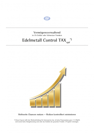 Cover: Edelmetall Control TAXopt