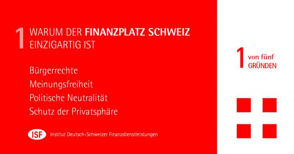 Chart: Warum die Schweiz als Finanzplatz einzigartig ist - Teil I