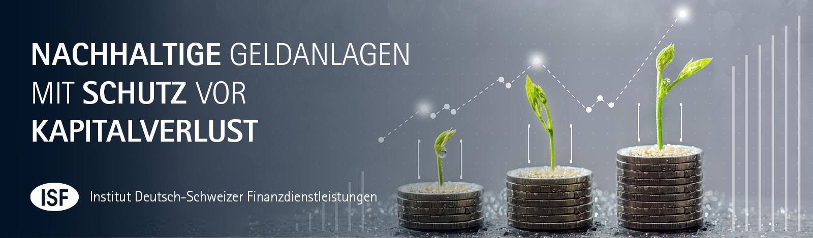 Nachhaltige Geldanlagen mit Schutz vor Kapitalverlust