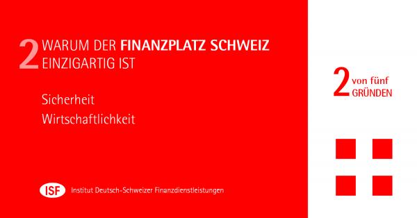 Chart: Warum der Schweizer Finanzplatz einzigartig ist - Teil II