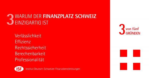 Chart: Warum der Schweizer Finanzplatz einzigartig ist - Teil III