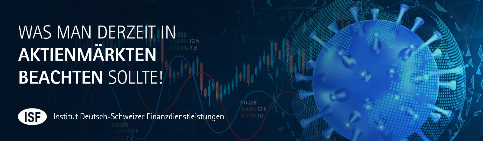 Was man derzeit in den Aktienmaerkten beachten sollte