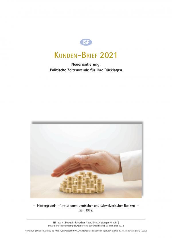 Kunden-Brief 2021