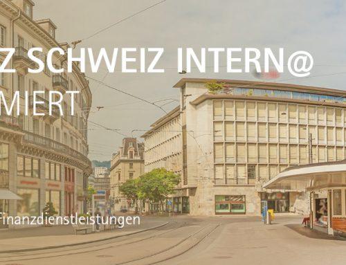 Finanzplatz Schweiz Intern@ für informierte Anleger